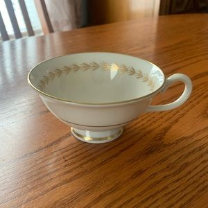 Gold encrusted tea cup